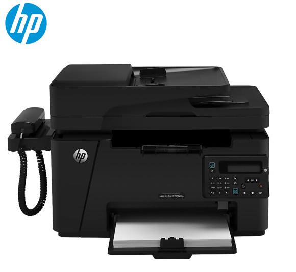 惠普(HP) LaserJet Pro MFP M128fp 激光一体机 打印/复印/扫描/传真