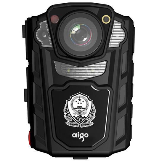 爱国者(aigo) DSJ-R2 现场记录仪 警用版 红外夜视高清便携加密激光定位录音录像拍照对讲执法取证 64G